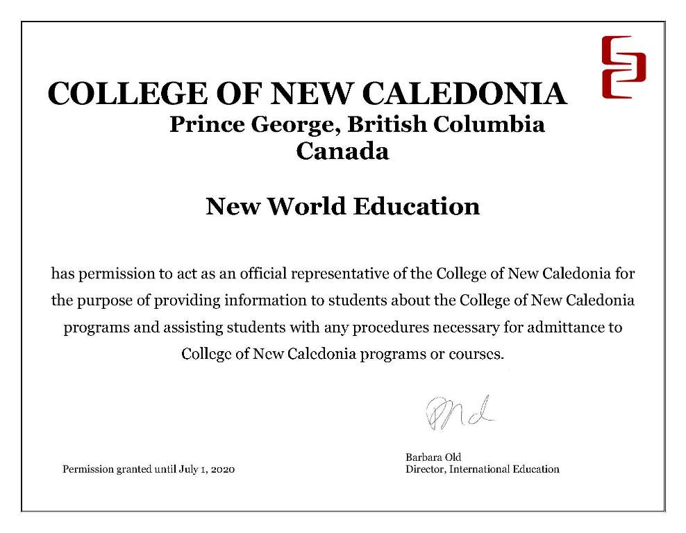 College of New Caledonia - Prince George, British Columbia, Canada
