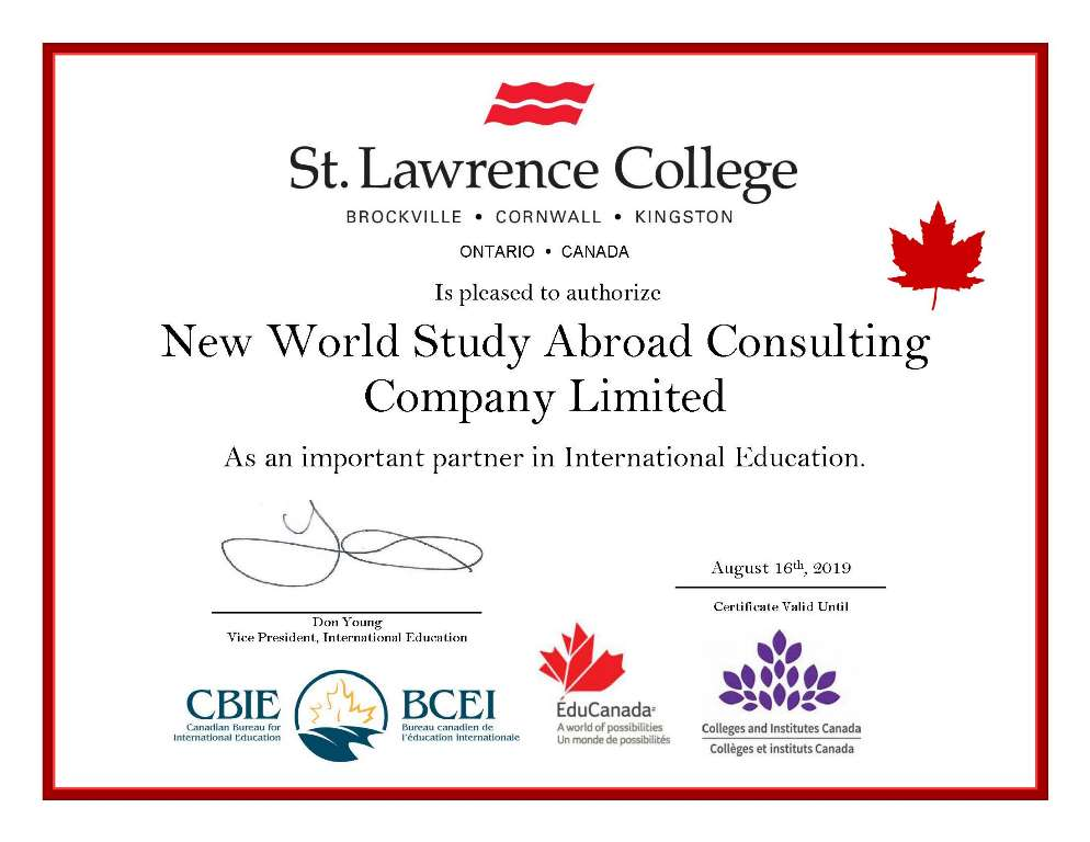 St. Lawrence College - Brockville/ Cornwall/ Kingston, Ontario, Canada