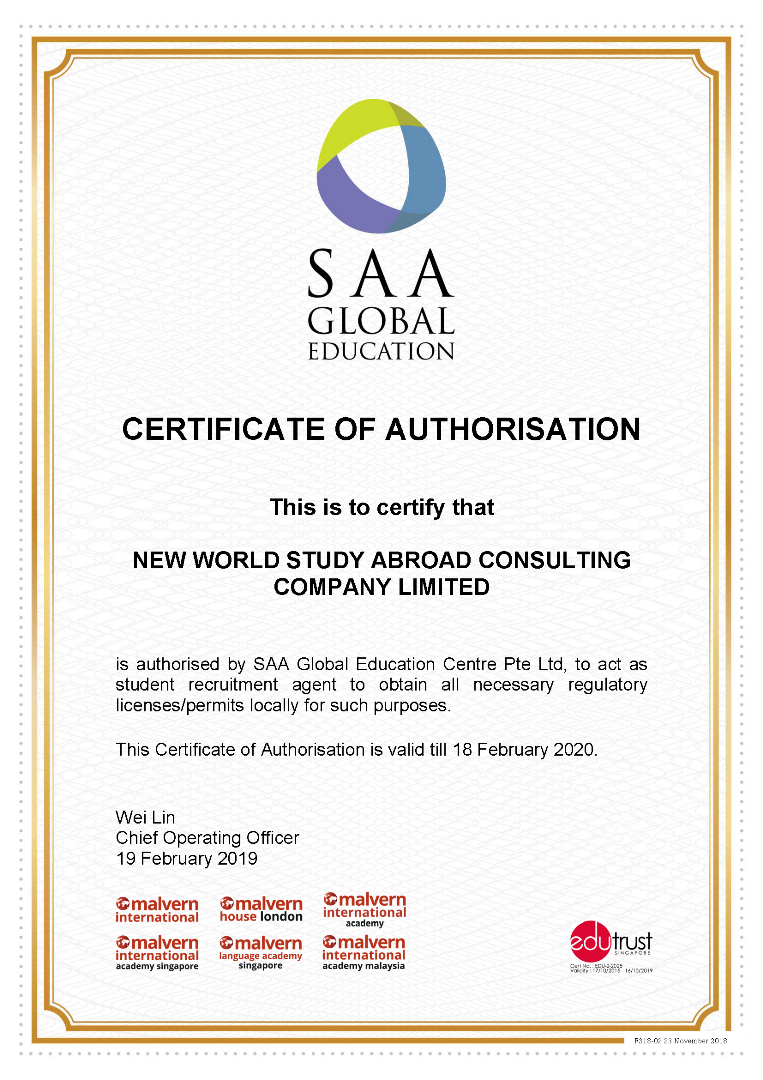 SAA Global Education Centre - Singapore