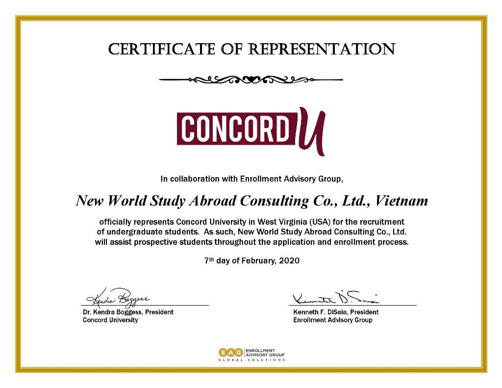 Concord University - Athens, West Virginia, Mỹ