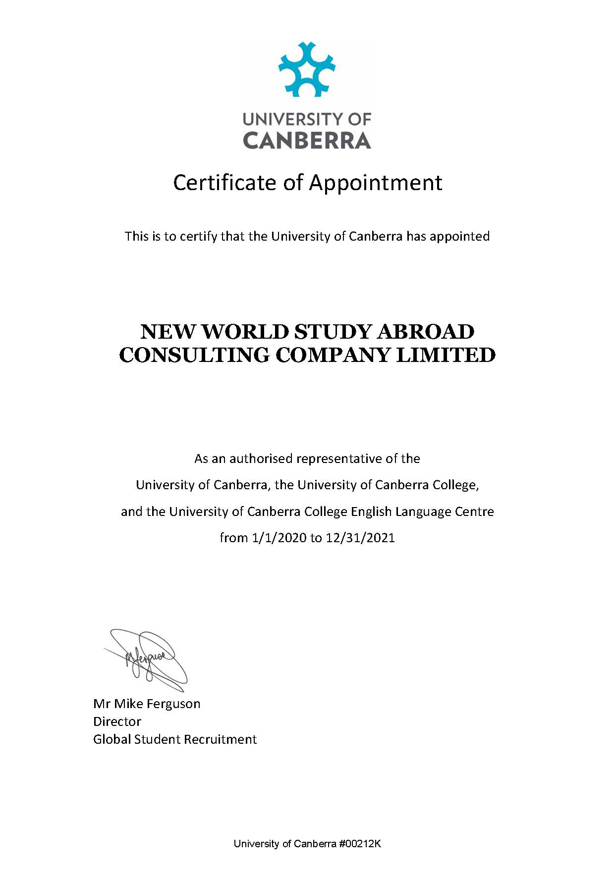 University of Canberra - Canberra, ACT , Úc